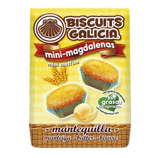 mini magdalenas café merienda desayuno Biscuits Galicia