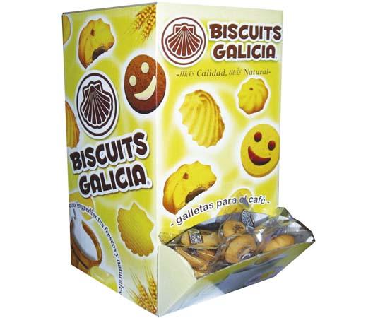 galletas para hostelería envasadas individualmente