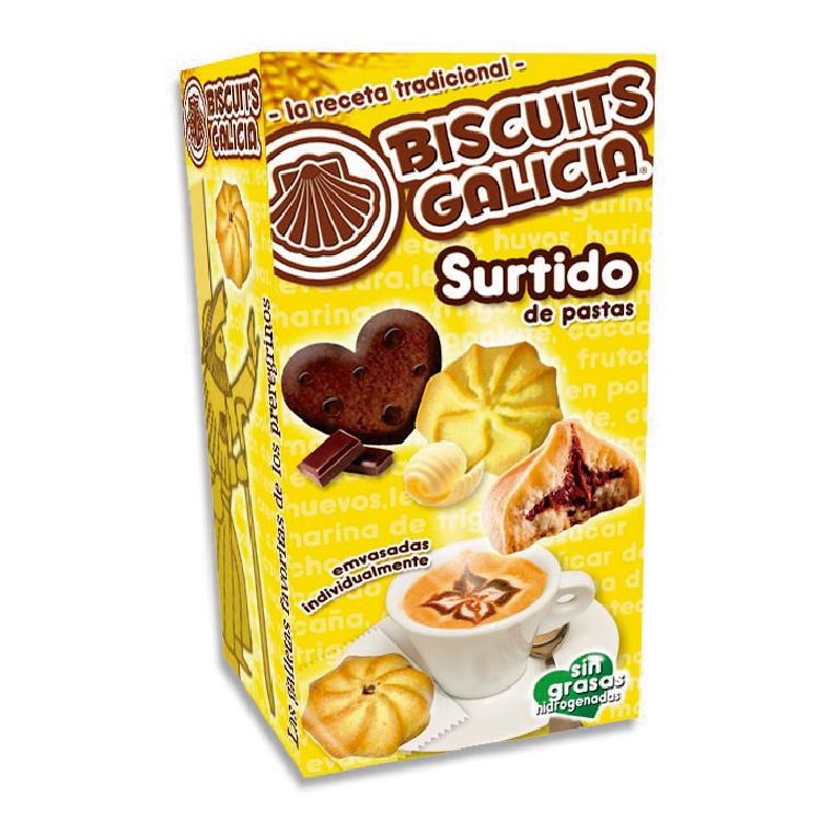 galletas para café envasadas individualmente Biscuits Galicia hostelería merienda desayuno