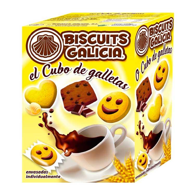 estuche de galletas para el café