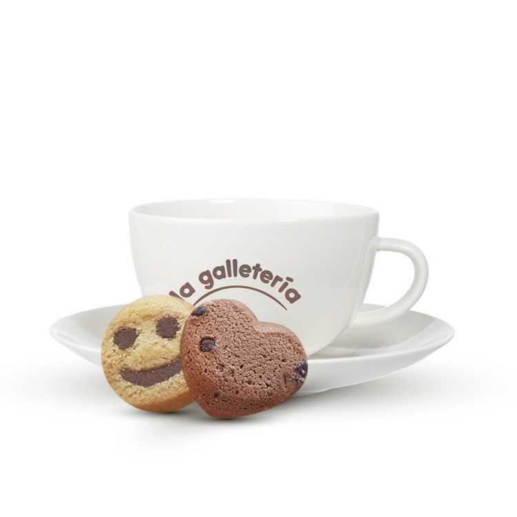 galletas envasadas individualmente café Biscuits Galicia