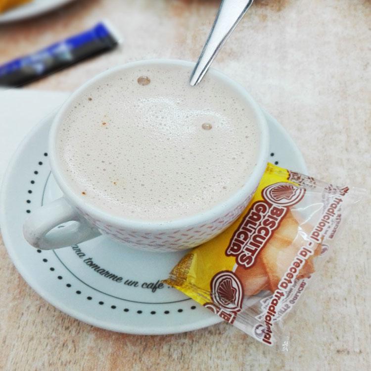 galleta envasada individualmente cortesía café hostelería cafetería Biscuits Galicia